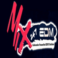 Logo of radio station Mix 247 EDM