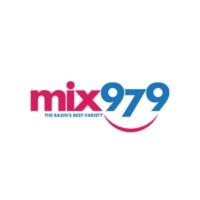 Logo of radio station KODM Mix 97.9 FM