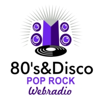 Logo de la radio 80's & Disco Pop Rock