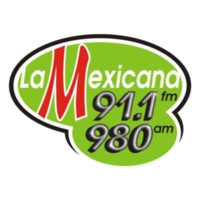Logo of radio station XHFS La Mexicana 91.1 FM