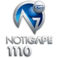 Logo of radio station XHEOQ NotiGAPE 91.7 FM