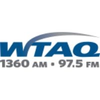 Logo of radio station WTAQ News Talk
