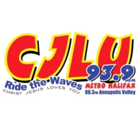 Logo of radio station CJLU 93.9 FM