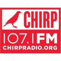 Logo of radio station CHIRP Radio 107.1FM