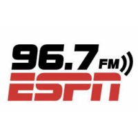 Logo of radio station WLLF ESPN 96.7
