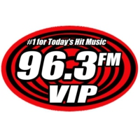 Logo of radio station 96.3 fm VIP