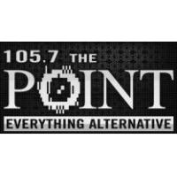 Logo of radio station KPNT 105.7 FM