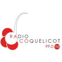 Logo of radio station Radio Coquelicot