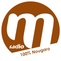 Logo of radio station M Radio 100% Nougaro
