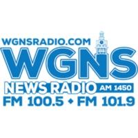Logo of radio station WGNS AM 1450