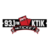 Logo of radio station KTIK SportsRadio 1350 AM