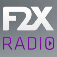 Logo of radio station F2x radio