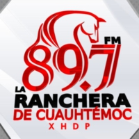 Logo of radio station XHDP La Ranchera 89.7 FM