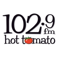 Logo de la radio 102.9 Hot Tomato