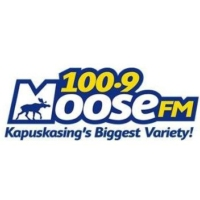 Logo of radio station 100.9 Moose FM