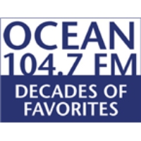 Logo of radio station WOCN - Ocean 104