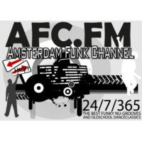 Logo of radio station AFC Amsterdam Funk Channel
