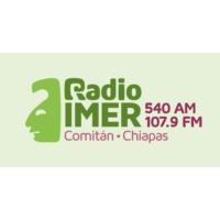 Logo of radio station XHEMIT IMER 107.9 FM