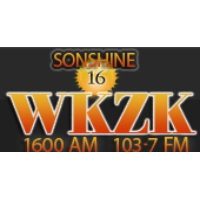 Logo of radio station WKZK 1600 AM