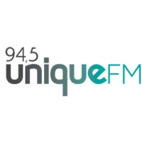 Logo of radio station 94.5 Unique FM