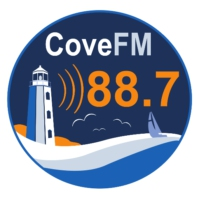Logo of radio station CKVE-FM Cove FM