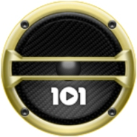 Logo of radio station 101.ru - Gangsta & Hip-Hop