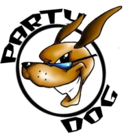 Logo of radio station Party Dog Radio