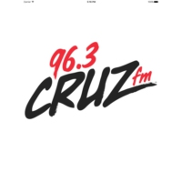 Logo of radio station 96.3 CRUZ FM