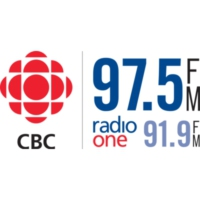 Logo of radio station CBEW-FM CBC Radio One Windsor