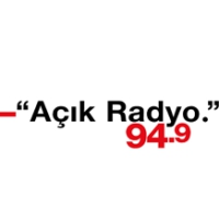 Logo of radio station Açık radyo