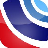 Logo of radio station RTM Keningau FM