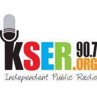 Logo of radio station KSER fm