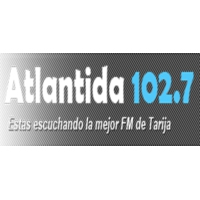 Logo of radio station Radio Atlántida 102.7 FM