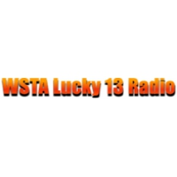 Logo of radio station WSTA Lucky 13 Radio