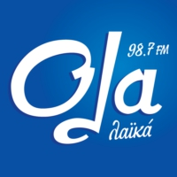 Logo of radio station Όλα 98,7