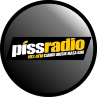 Logo of radio station Piss 102.4 FM Ciamis