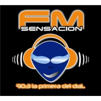 Logo of radio station Radio Sensacion