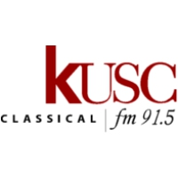 Logo of radio station KUSC Classical
