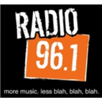 Logo of radio station WBBB 96.1