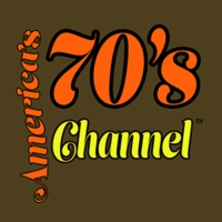 Logo of radio station America's 70's Channel