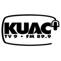 Logo of radio station KUAC 89.9 FM