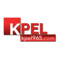 Logo of radio station 96.5 KPEL