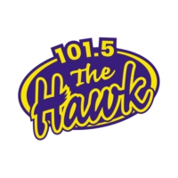 Logo of radio station The Hawk 101.5