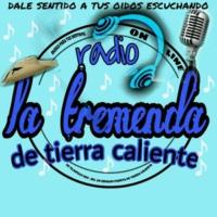 Logo of radio station LA TREMENDA DE TIERRA CALIENTE