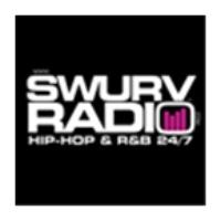 Logo of radio station Swurv Radio