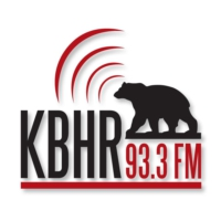 Logo of radio station KBHR
