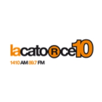 Logo of radio station LaCatorce10
