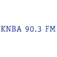 Logo of radio station KNBA