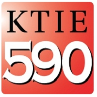Logo of radio station KTIE 590 AM