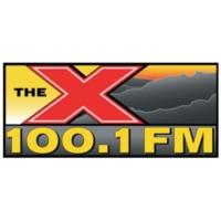 Logo of radio station KTHX The X 100.1 FM